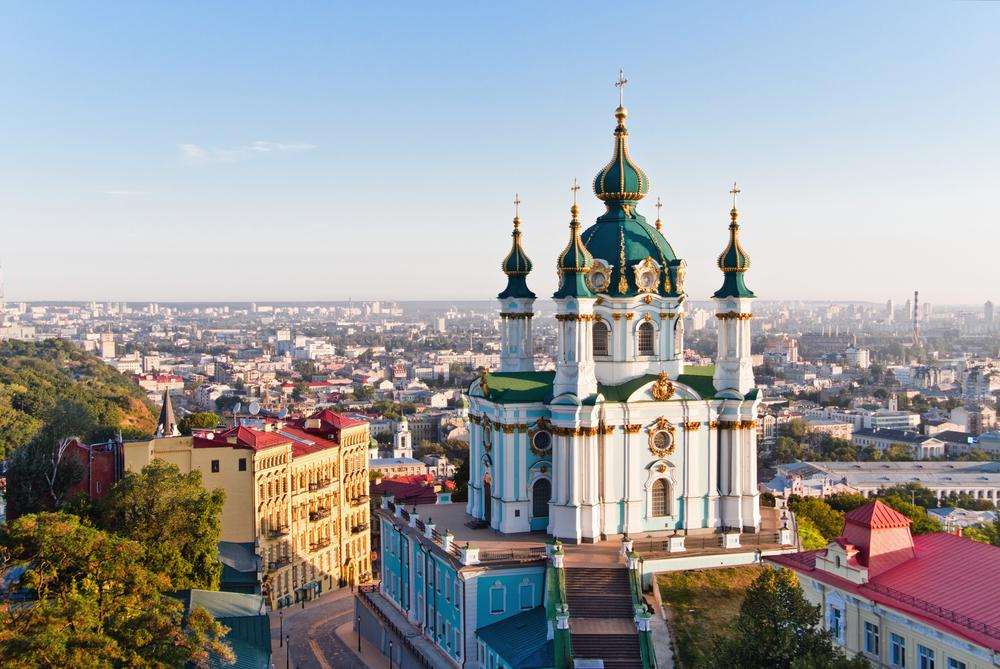Kiew-St.-Andreas-Kirche